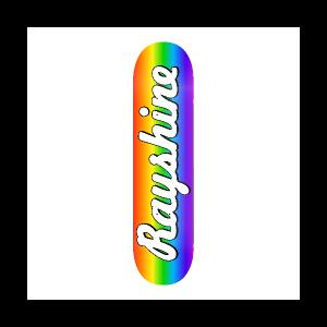 Rayshine Brand Rainbow Gradient  Medium Concave Deck