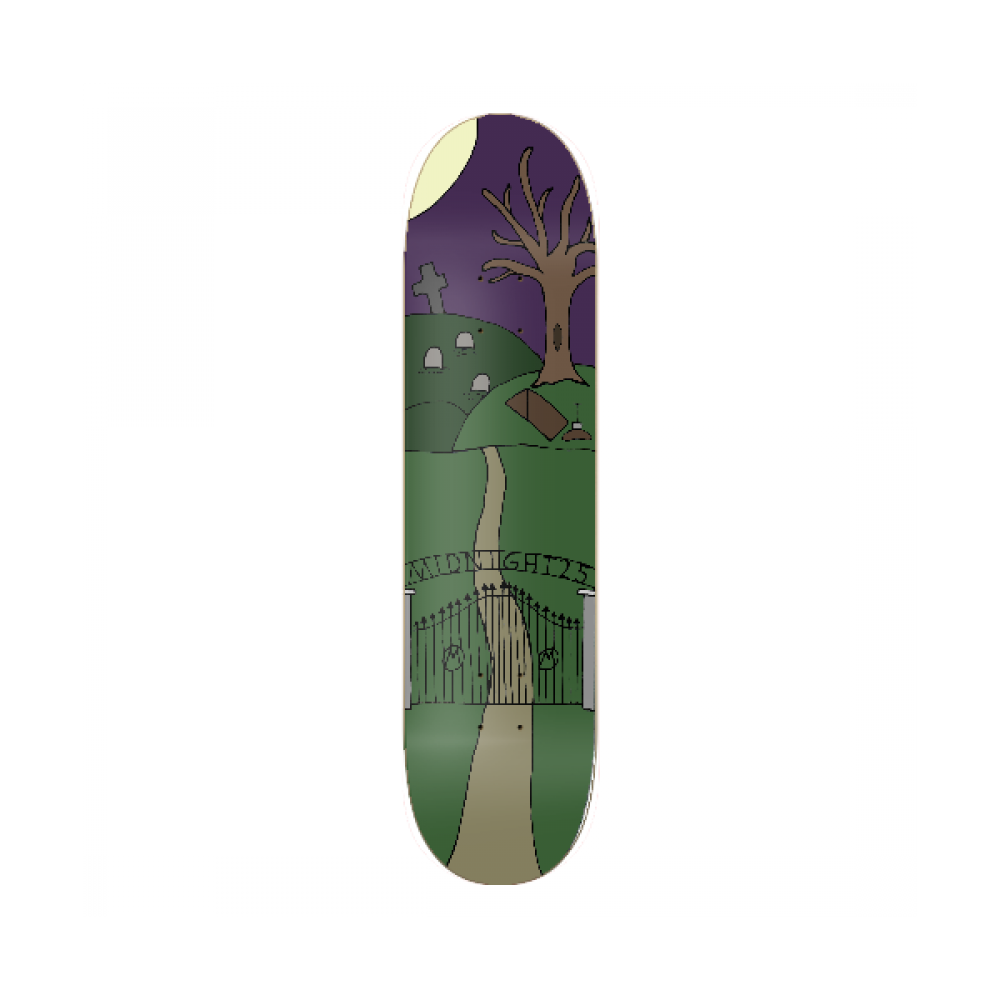 Midnight 25 Cemetery Deck