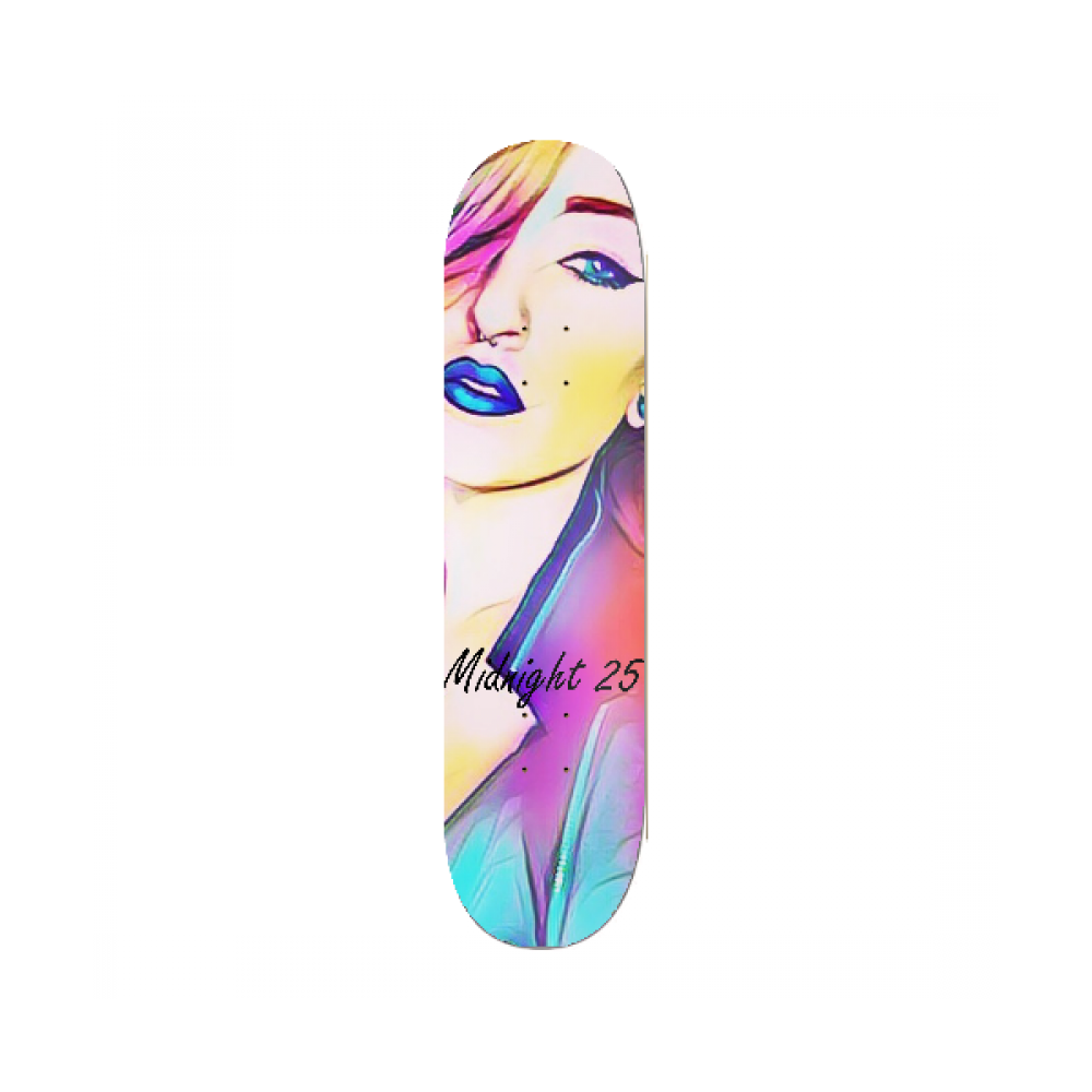 Midnight 25 Colorful Girl Deck