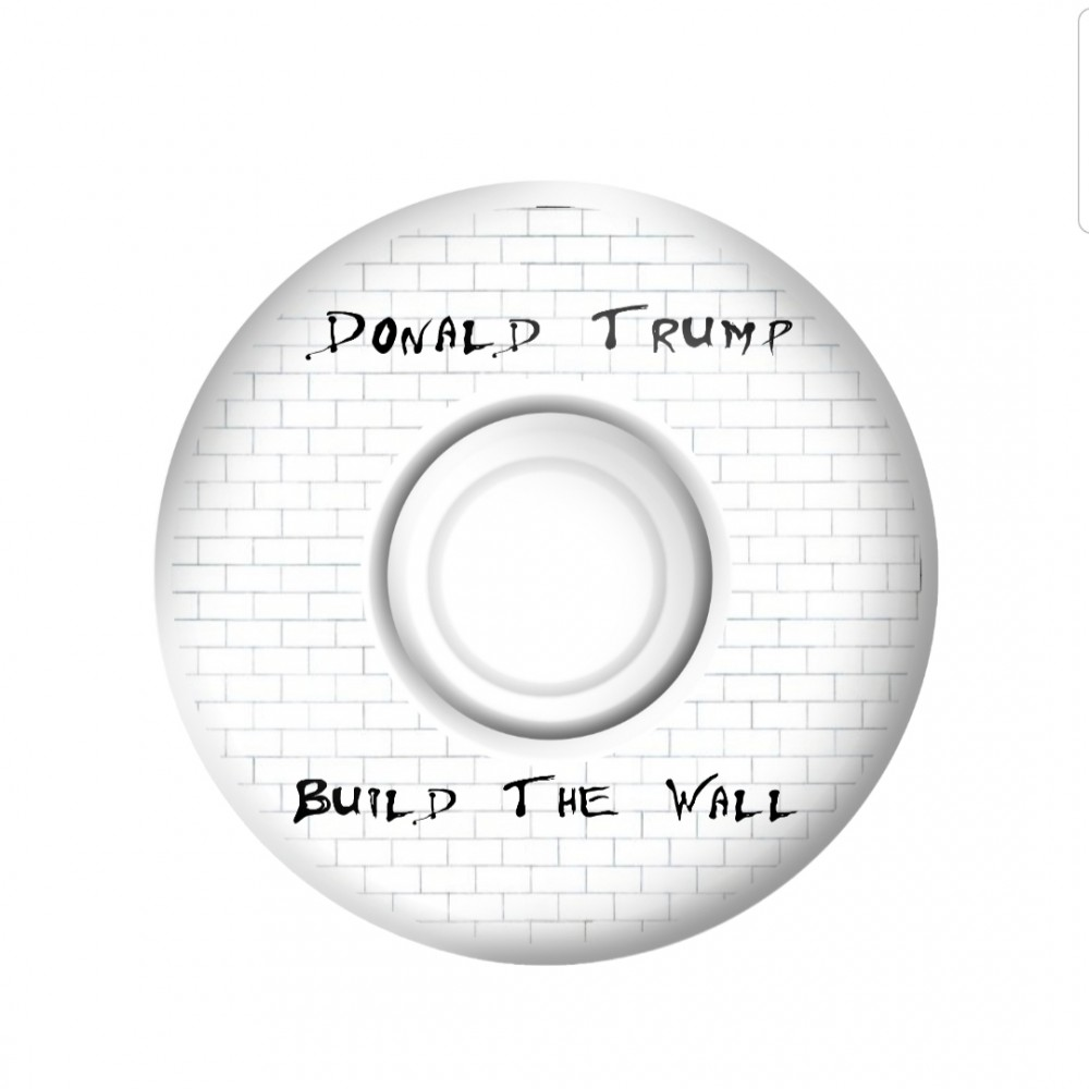 Build the Wall - Donald Trump wheels