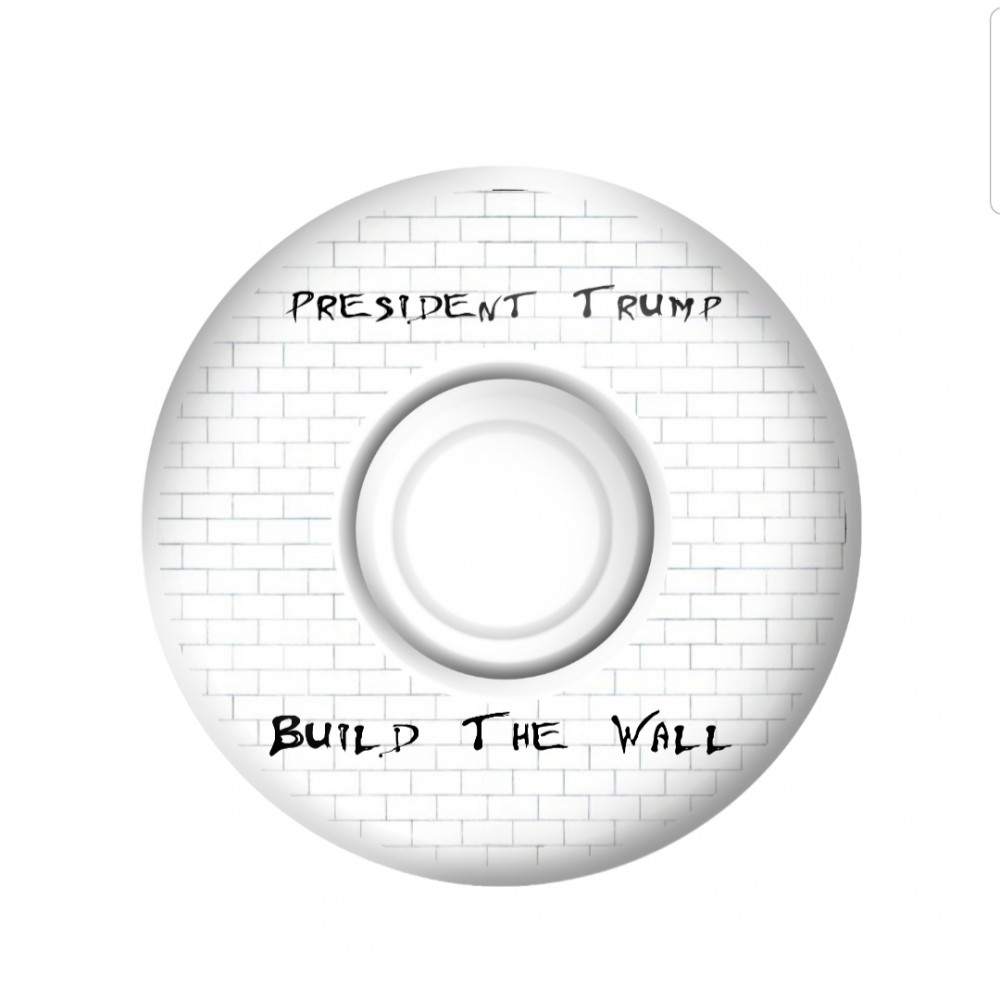 Build the Wall - President Trump wheels