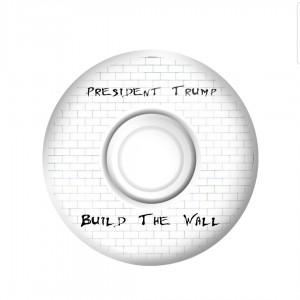 Build the Wall - President Trump wheels