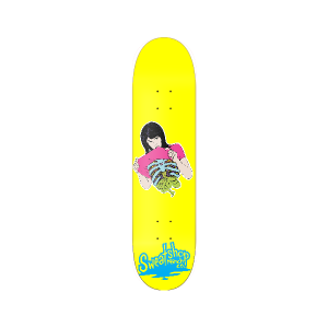 Guts Girl Skate deck