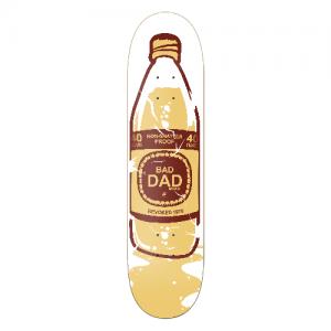 Bad Dad Beer Skateboard Design