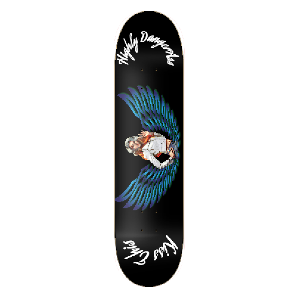 First highly Dangerass Skateboard Graphic