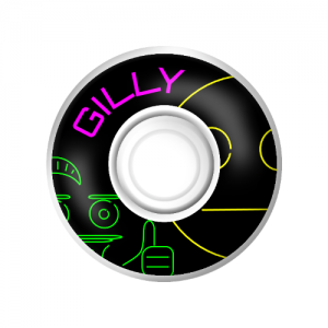 Neon Gilly Wheels