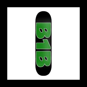 B1B logo Deck green/ black
