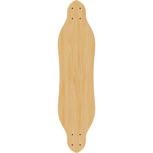 Blank Free Ride Longboard SINGLE DIY