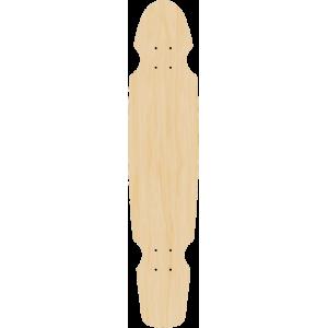 Blank Master Carver Longboard