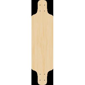 Blank Podium Longboard SINGLE!