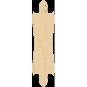 Blank Stealth Wing Longboard