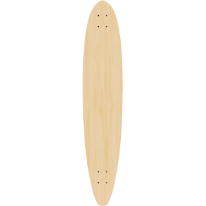 Blank Hardtail Cruiser Longboard 5 PACK