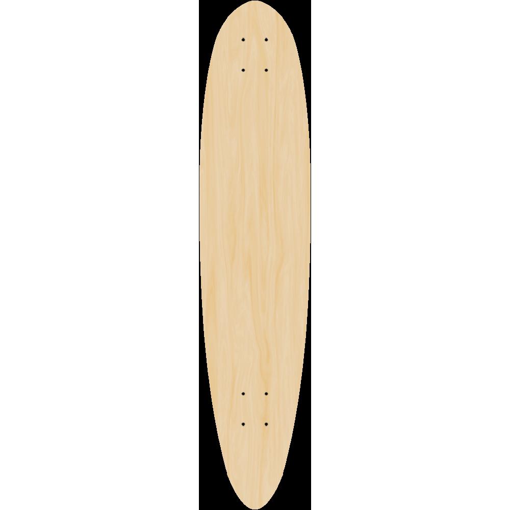 Blank Logger Longboard 5 PACK