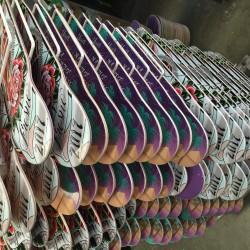 Rack of printed decks
