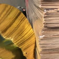 Gold Foil Skateboards