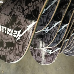 Metallica Skateboards - Need Decks for your band?  Boards for Bands