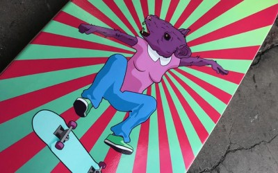 Amazing Custom Skateboard Printing
