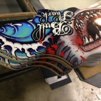 custom longboard shape
