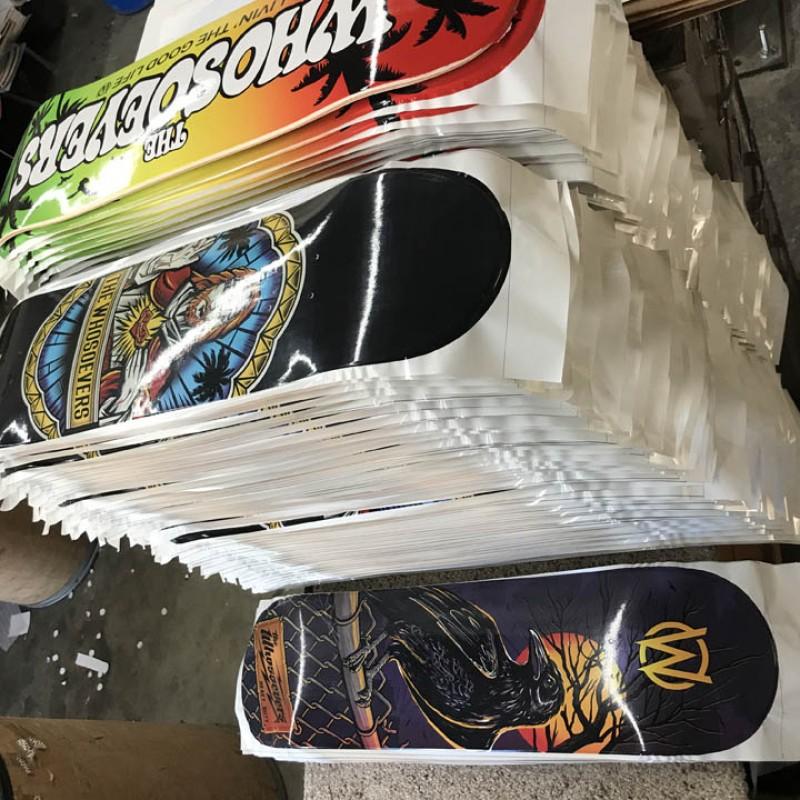 10 Custom Skateboards Medium Concave