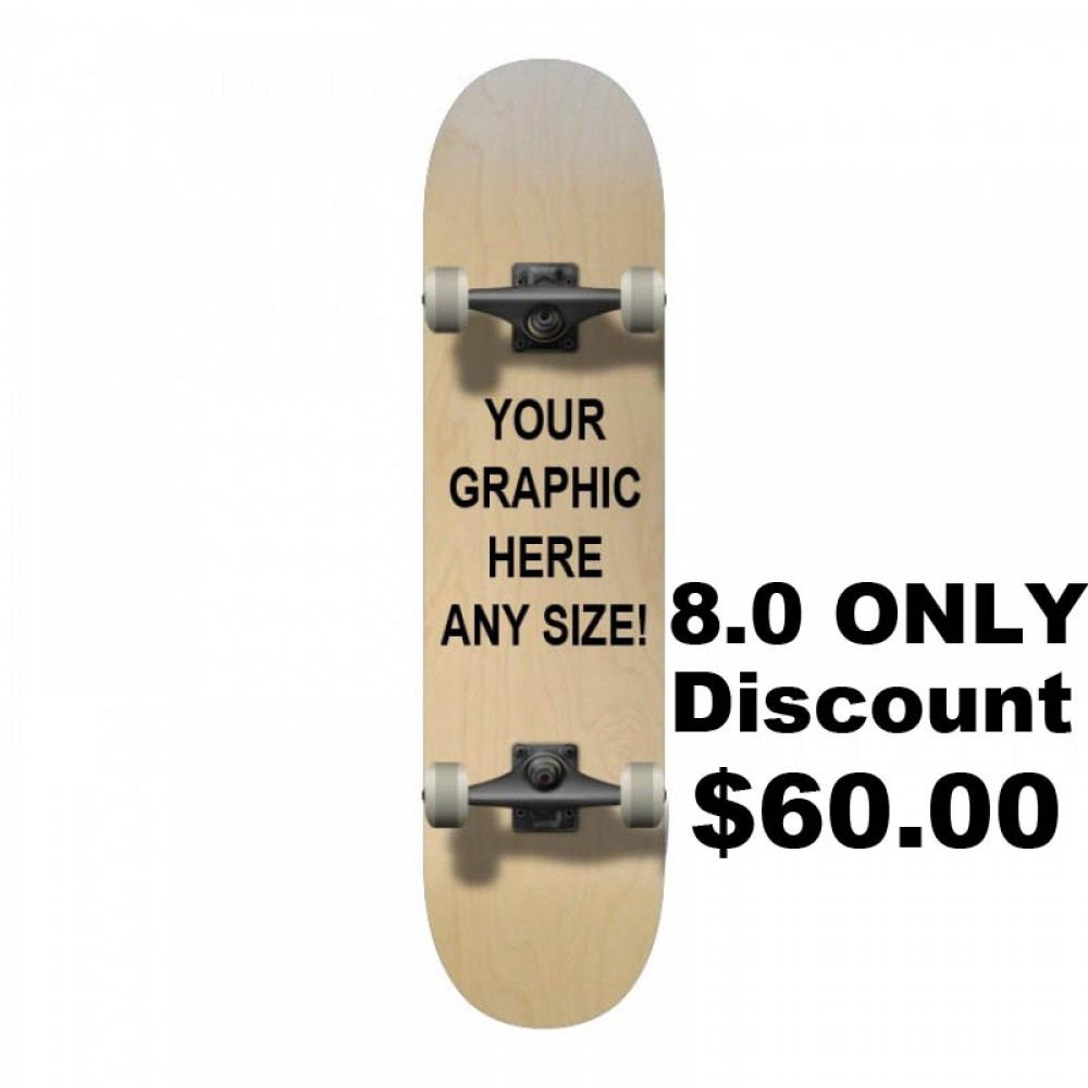 complete 8.0 custom discount