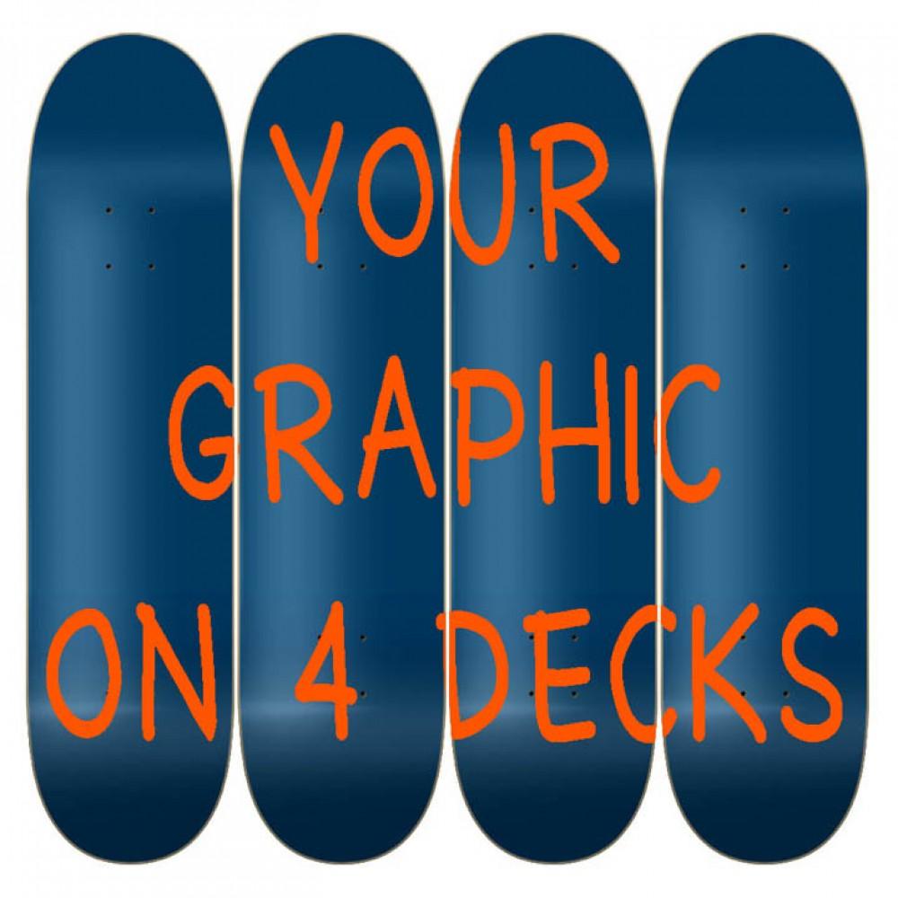 Custom 4 Deck Mural