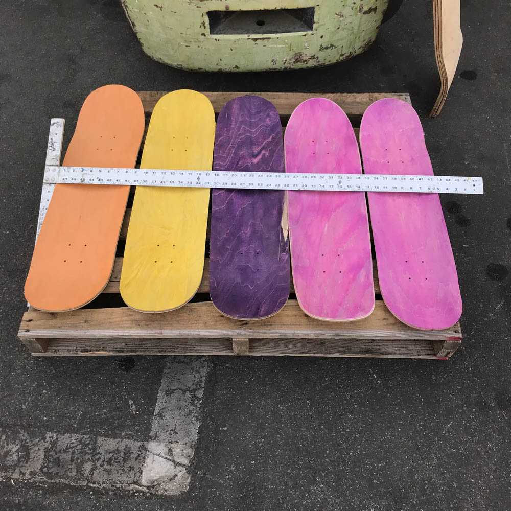Diy Paint On Skateboard Project blank ready to design your own