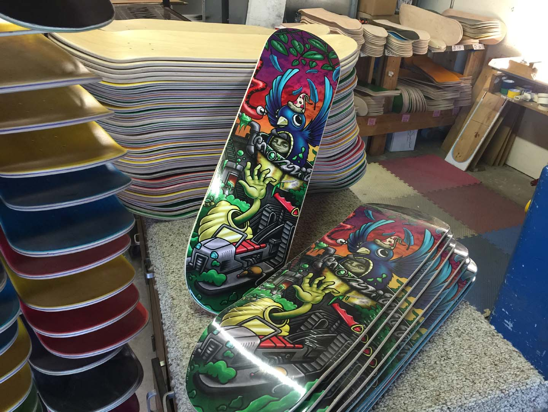 Custom Skateboards | Single $20 00 BULK $11 00ea Made in USA!