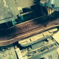 skate deck manufacturer drill press