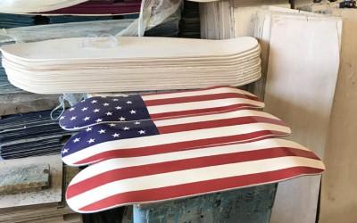 American Skateboard Mural