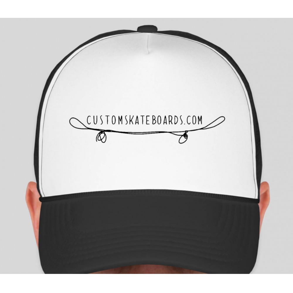 Custom Skateboards Trucker Hat