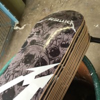 Metallica Promotional Skateboard