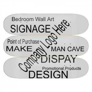 Skateboard Wall Art Display Promotion