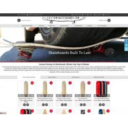 Custom Skateboard Store Wide Sale!