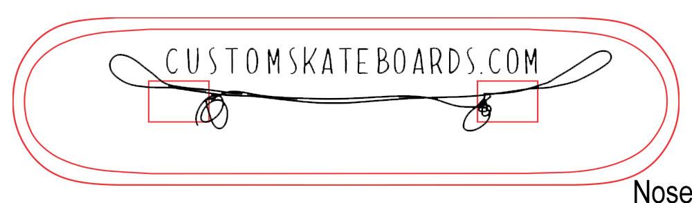 skateboard design template